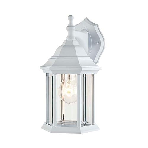 Noma Six Sided Outdoor Wall Lantern, Noma Jam Jar Outdoor Lantern