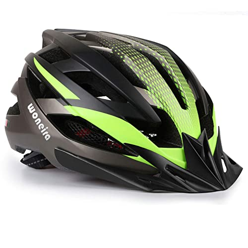 Bike Helmet for Adults Men Women Urban Commute with Rechargeable USB Light Bi...