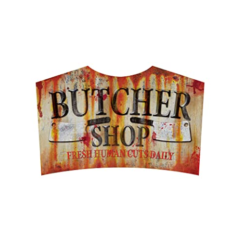 Buy Sunstar Industries Butcher Shop Sign Metal Halloween Zombie Apacolypse Decoration Horror Prop Online In Tunisia B071yt44zg